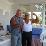 19  -in Samsun Treffen mit Aliihsan nach 53 Jahren