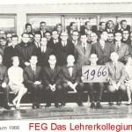 FEG_Das_Lehrerkollegium_1966